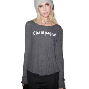 WILDFOX winter diet long sleeve cassidy thermal XS